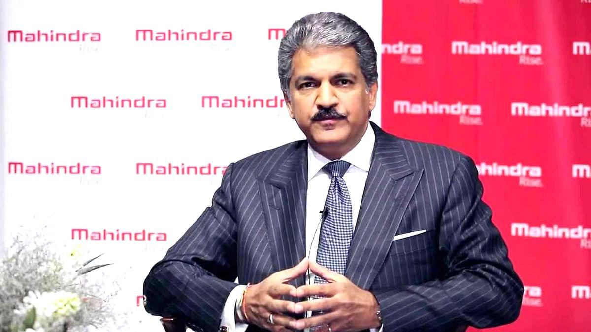 M&M Group Chairman Anand Mahindra