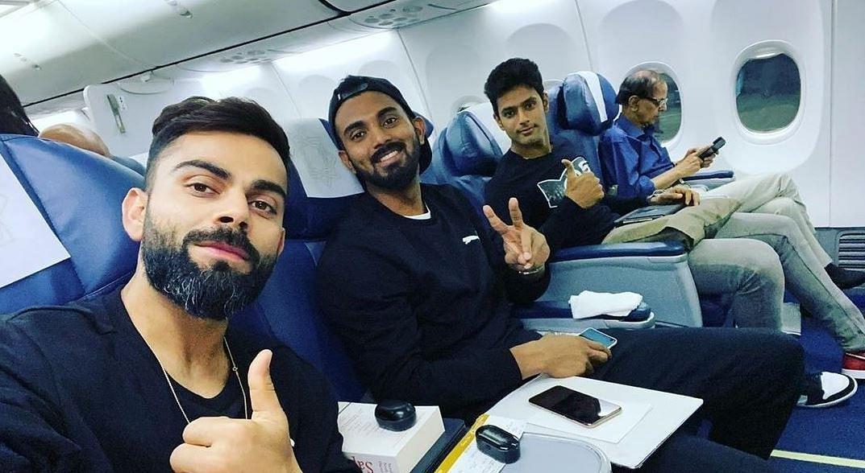 IND Vs WI: पहले T20 के लिए हैदराबाद पहुंचे कोहली संग ये खिलाड़ी