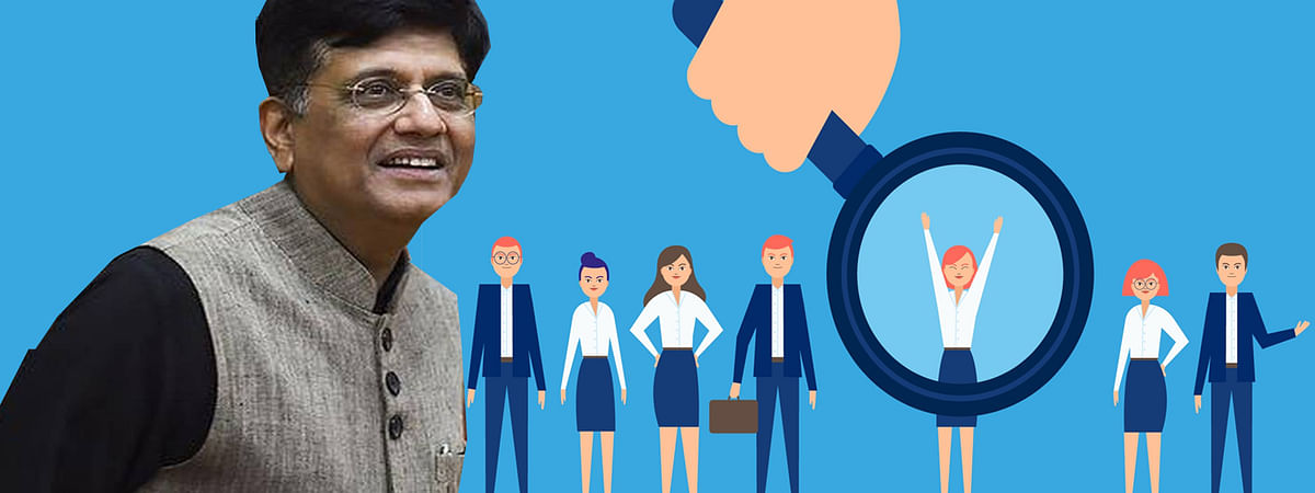 Railway Minister piyush Goyal gave railway vacancy post info