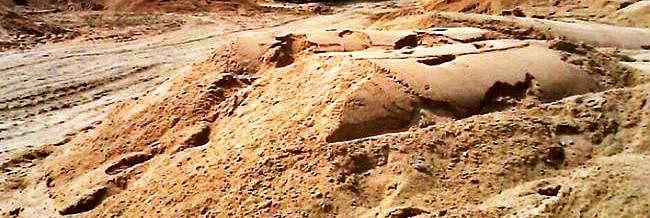 रेत की खदान