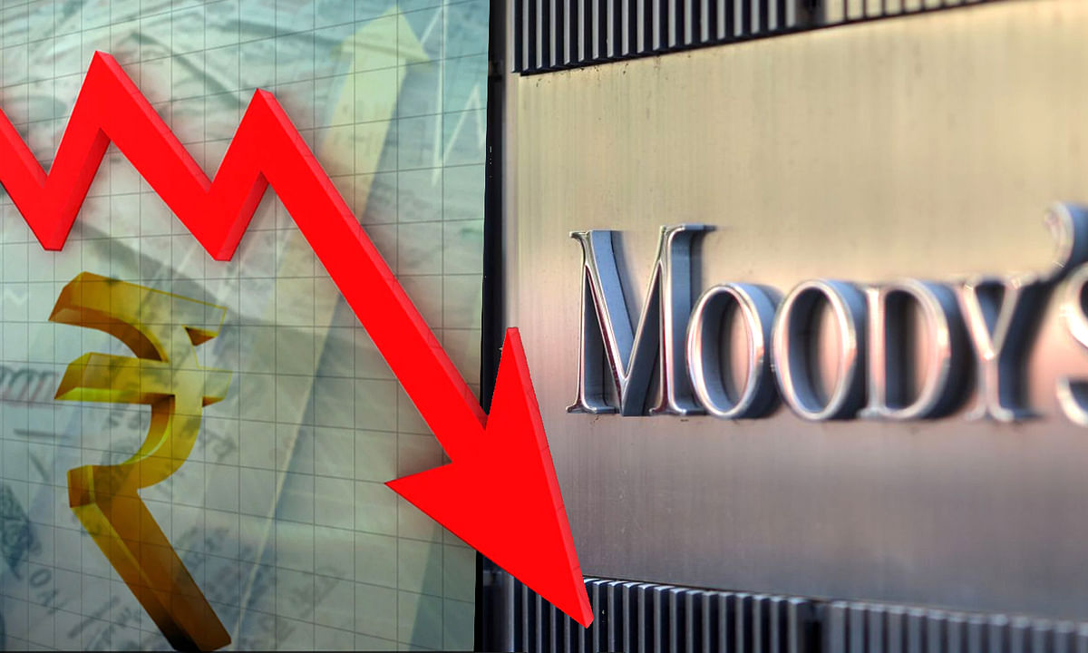 Moody lowers Indian sovereign rating