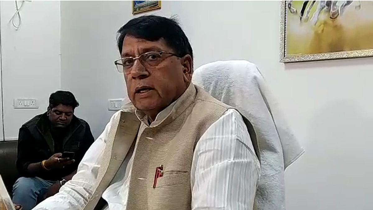 कैबिनेट जनसंपर्क मंत्री पीसी शर्मा