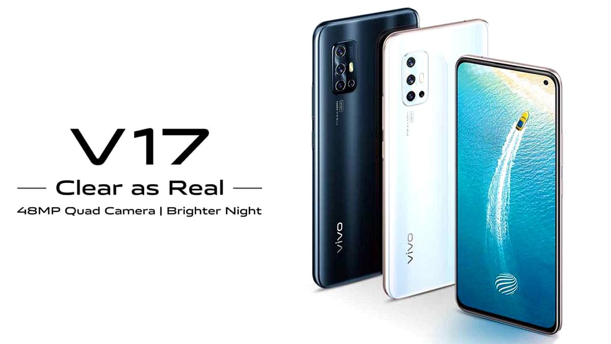 भारत में आज लांच हुआ पंचहोल डिस्प्ले वाला स्मार्टफोन Vivo V17