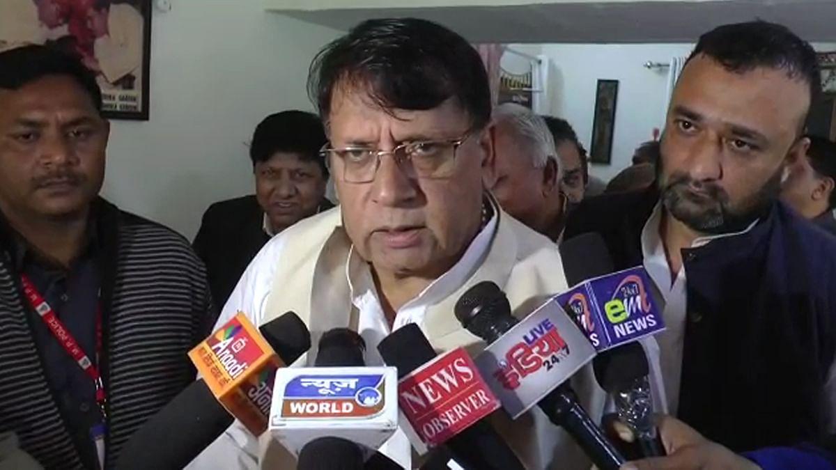 कैबिनेट मंत्री पीसी शर्मा