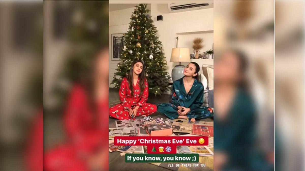 आलिया भट्ट ने मनाया क्रिसमस डे