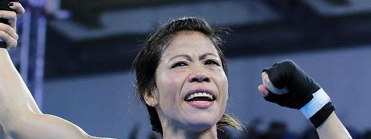 Mary Kom Beat Nikhat Zareen in Olympic Qualifier