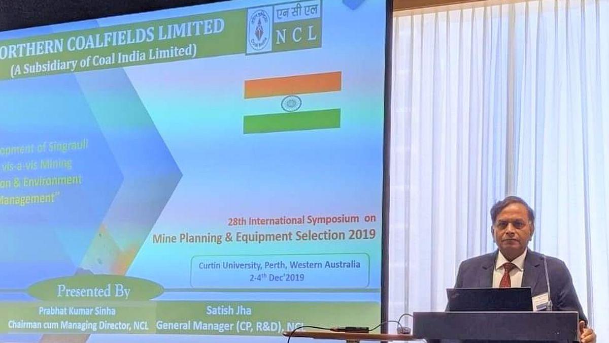 एनसीएल सीएमडी ने आस्ट्रेलिया में प्रस्तुत किया रिसर्च पेपर