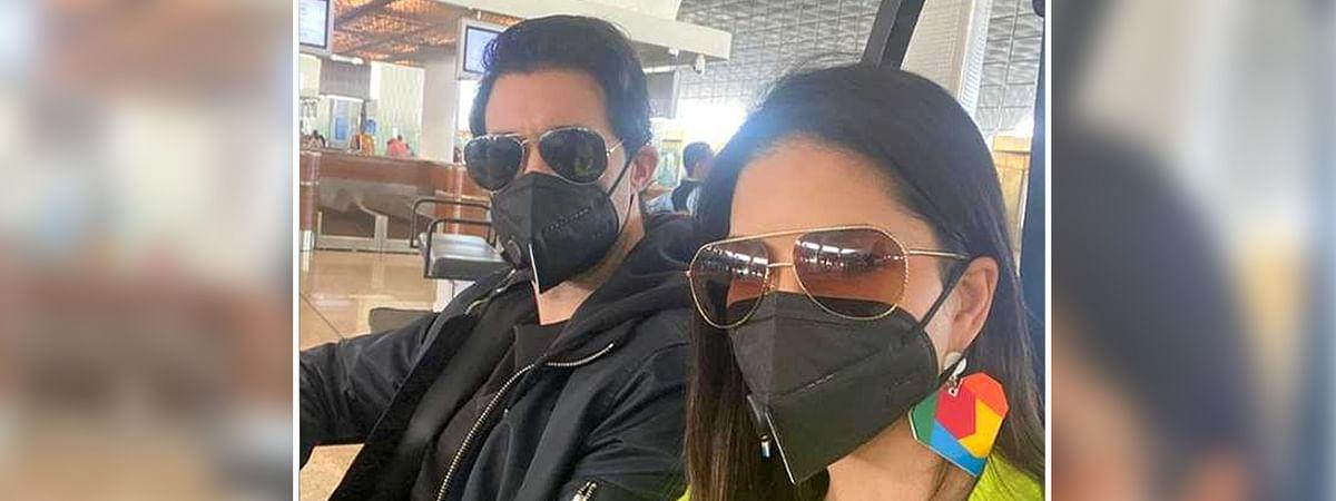 सनी लियोनी को है कोरोना वायरस का खौफ