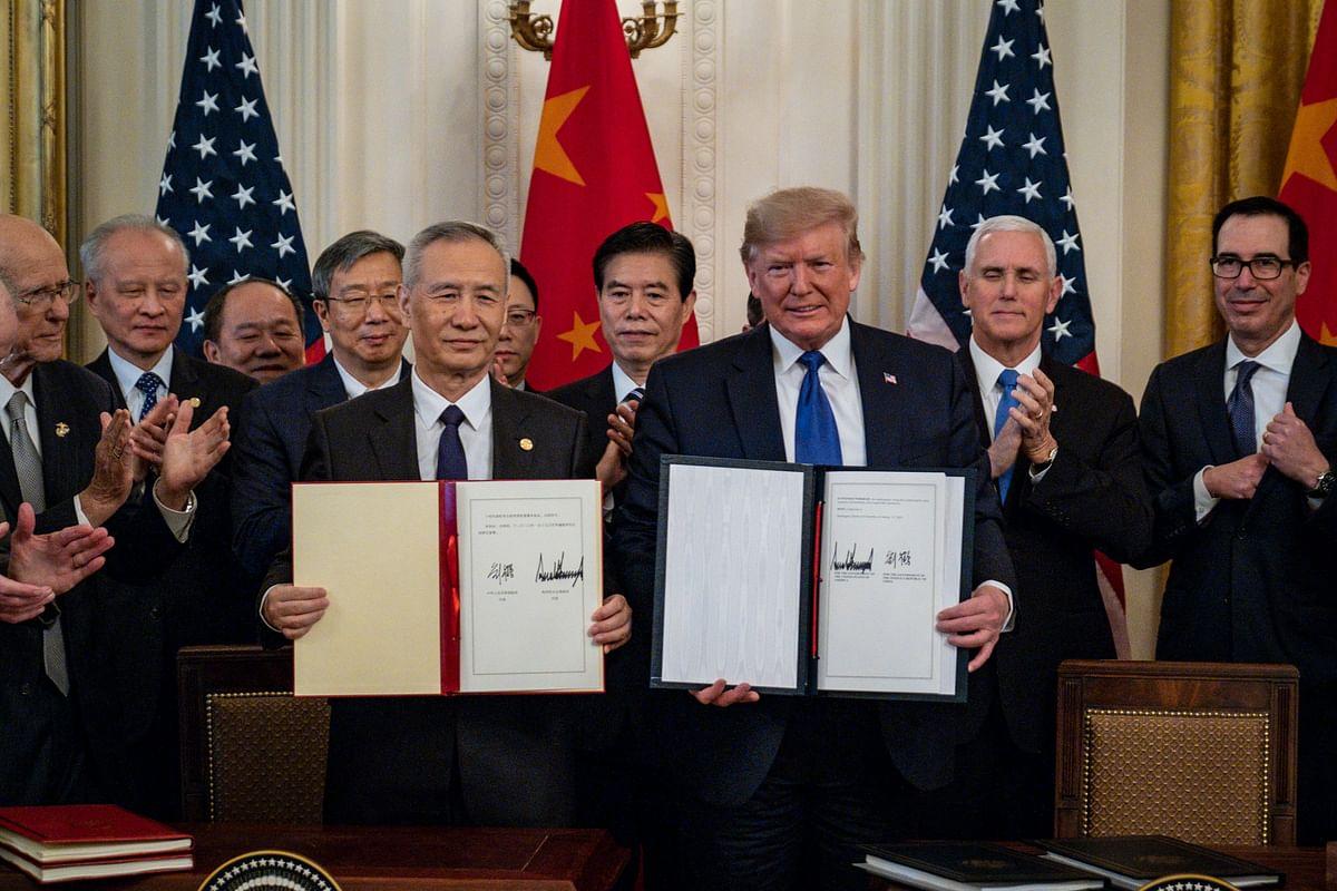 अमेरिका-चीन की हुई दोस्ती, ट्रेड डील बनी जरिया