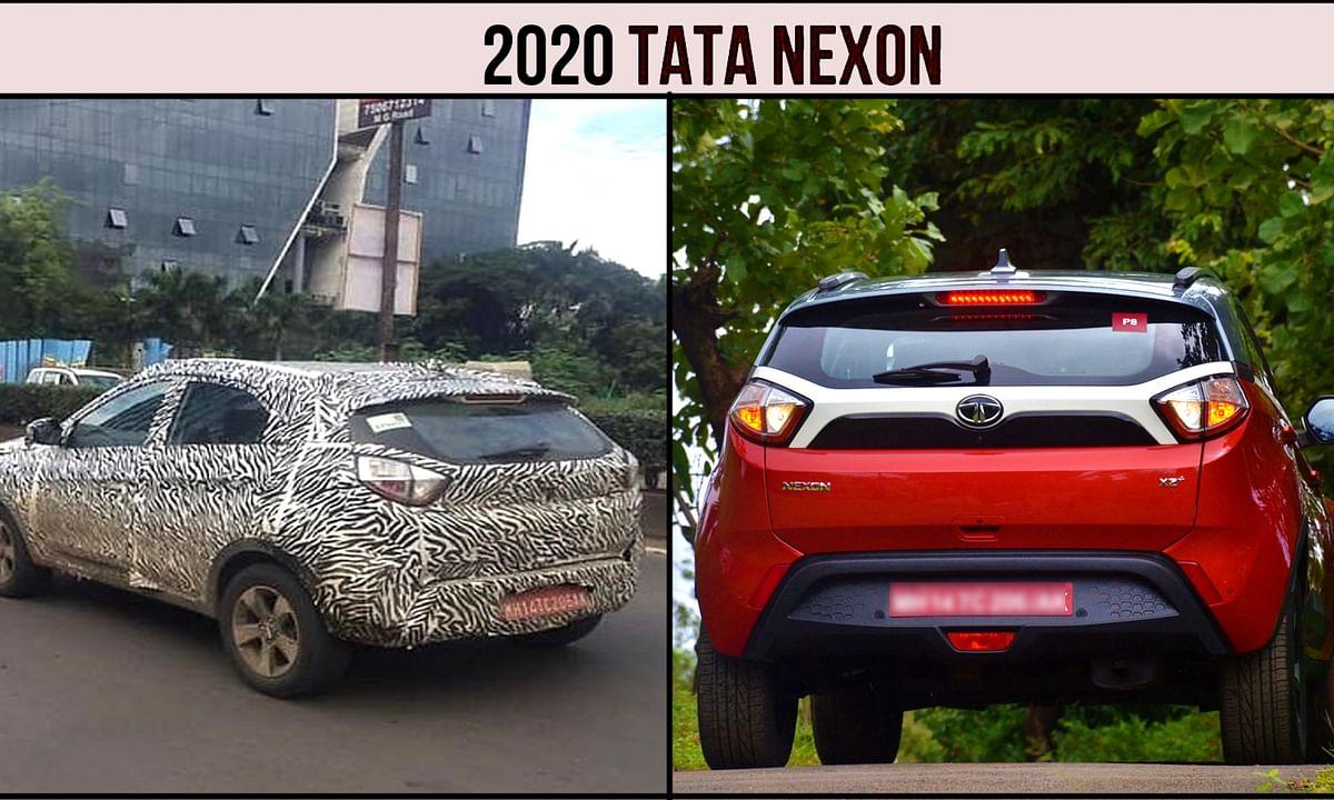 टाटा मोटर्स ने Nexon में बदलाव कर पेश किया नया फेसलिफ्ट मॉडल