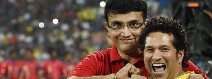 Sachin Tendulkar Trolls Sourav Ganguly on Instagram