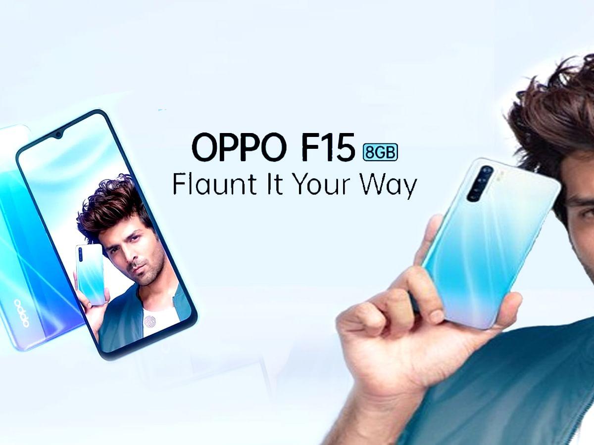 भारत में आज से Oppo F15 की बिक्री शुरू, ट्रेंड कर रहा #OPPOF15