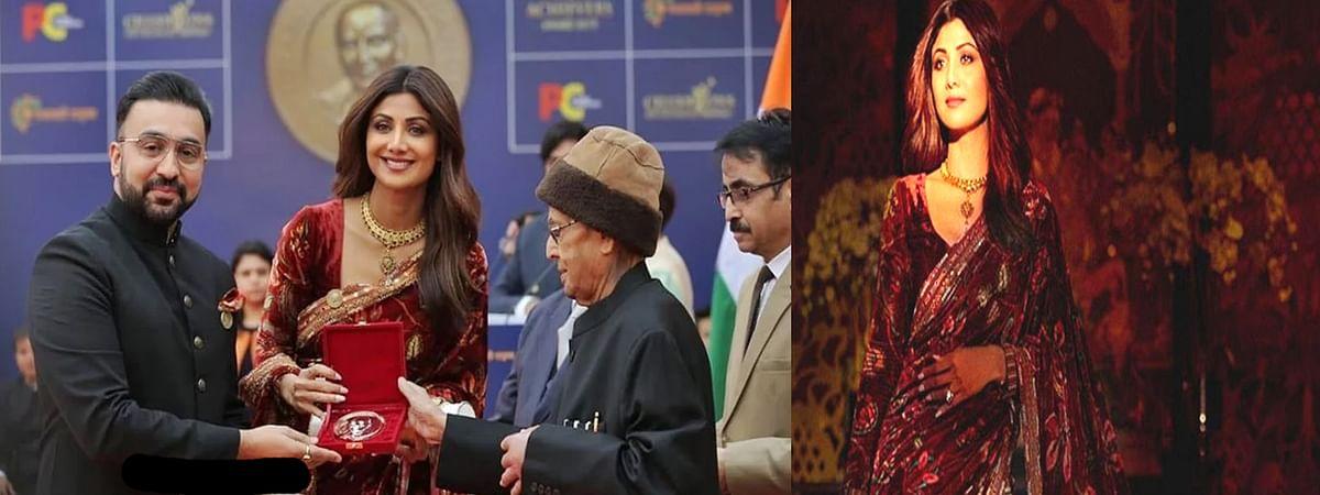 Shilpa shetty kundra Got Champion of Change Award 2019