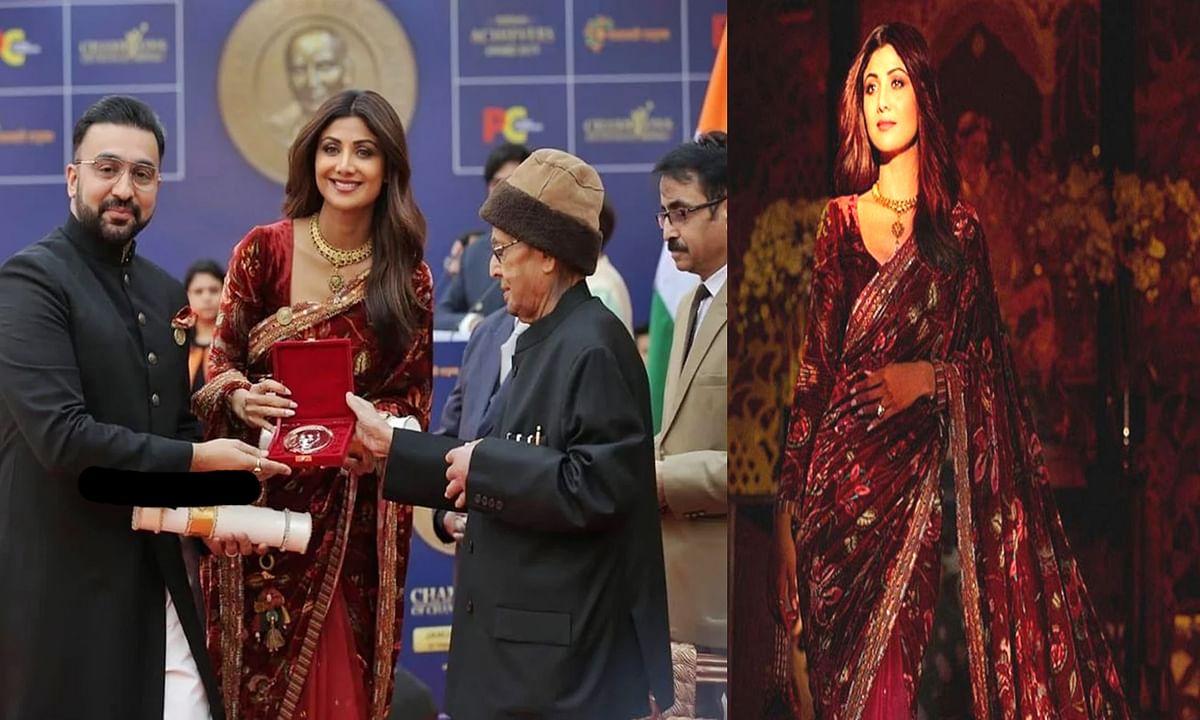 शिल्पा शेट्टी हुई 'चैंपियन ऑफ़ चेंज अवार्ड 2019' से सम्मानित