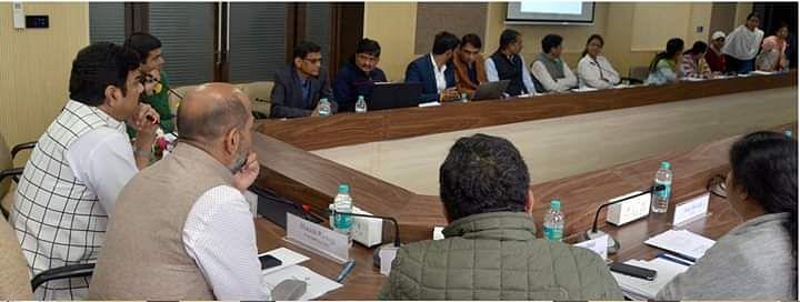 समस्त राजस्व रिकार्ड का होगा डिजिटाईजेशन : मंत्री श्री राजपूत