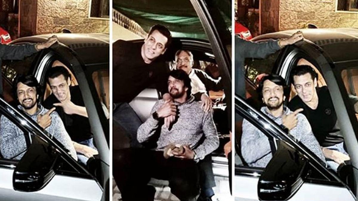 सलमान खान ने की सुदीप को BMW M5 गिफ्ट