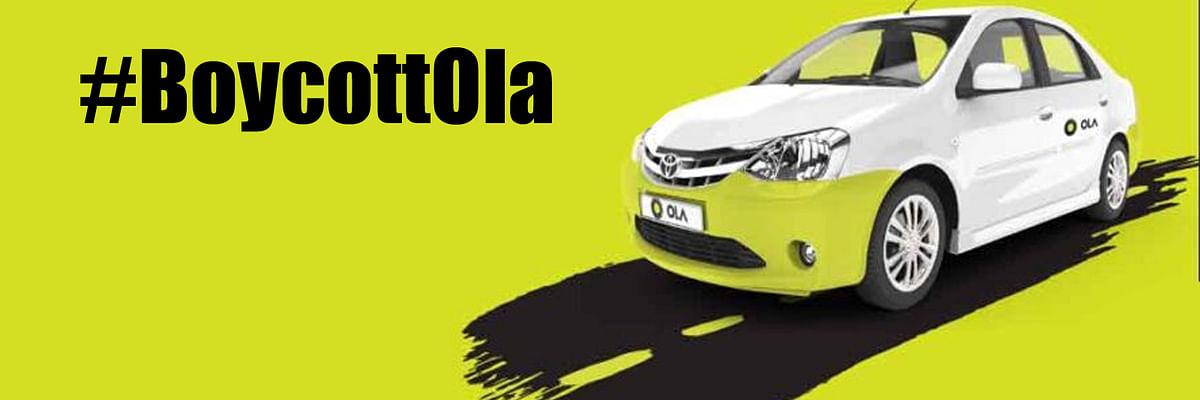 एक शिकायत से ट्विटर पर ट्रेंड करने लगा #BoycottOla