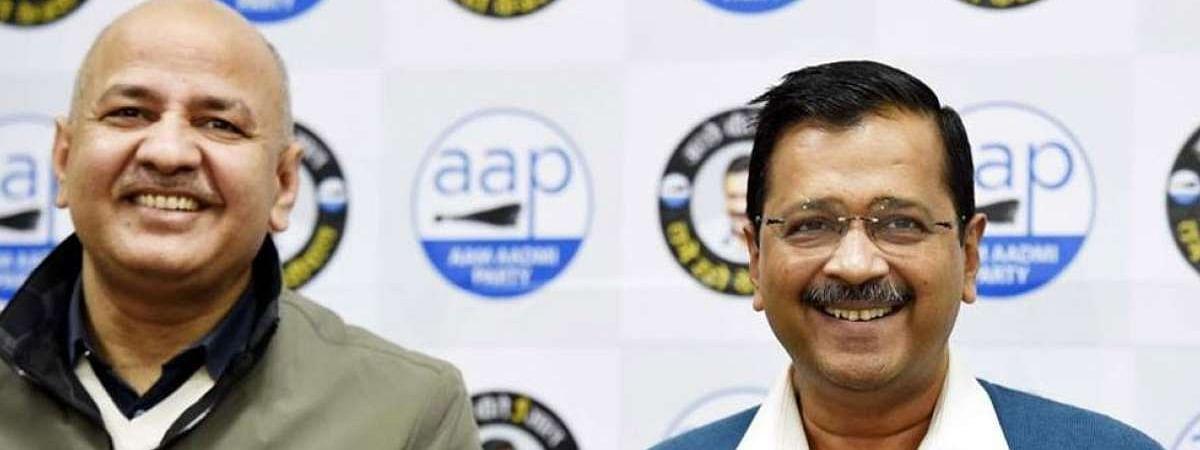 दिल्ली चुनाव 2020:AAP उम्मीदवारों पर लगी मुहर