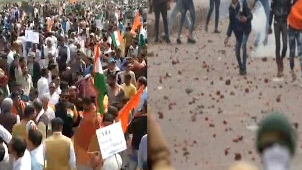 CAA समर्थन रैली पर पथराव के बाद शाजापुर बना छावनी