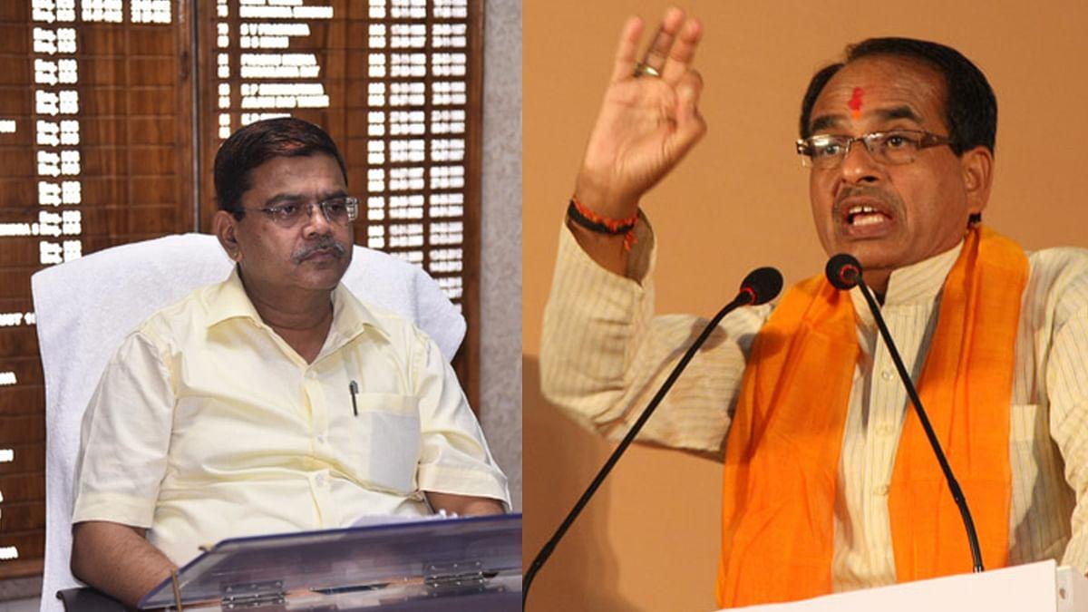 मंडला कलेक्टर मामले में पूर्व मुख्यमंत्री शिवराज ने की राज्यपाल से शिकायत