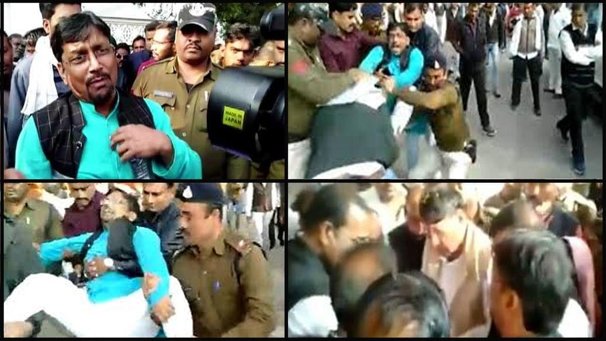 कांग्रेस की किरकिरी : मंत्री को नहीं भाया नेता का रवैया, बाहर भेजा