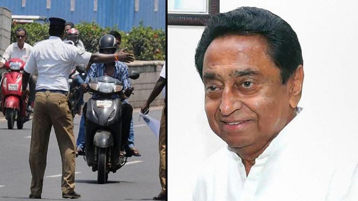 ट्रैफिक नियमों में बदलाव कर कमलनाथ सरकार ने केन्द्र को दिया झटका