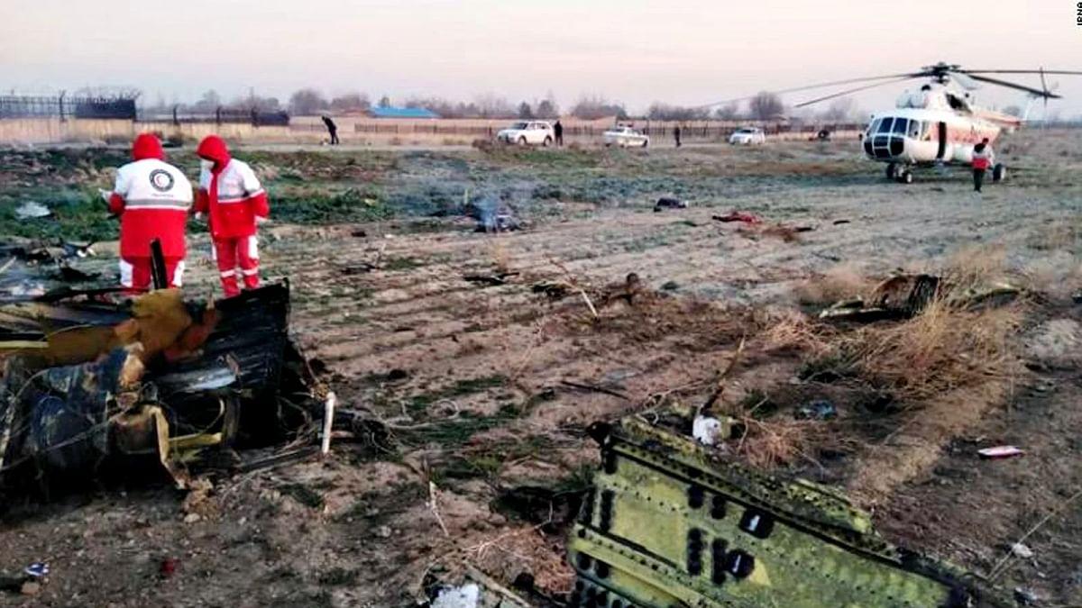 Ukraine Boeing Passenger Plane Crash