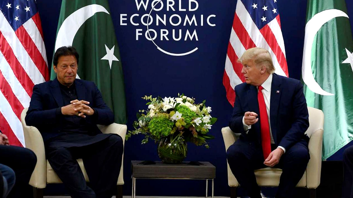Donald Trump Meets Imran Khan
