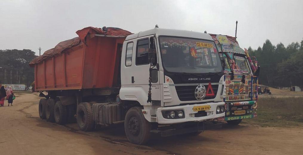 खनिज विभाग पहुंची अवैध उत्खनन, परिवहन की फाइल
