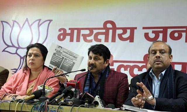 दिल्ली चुनाव: झूठ से नहीं तोड़ेंगे नाता, यह है AAP का वादा : लेखी