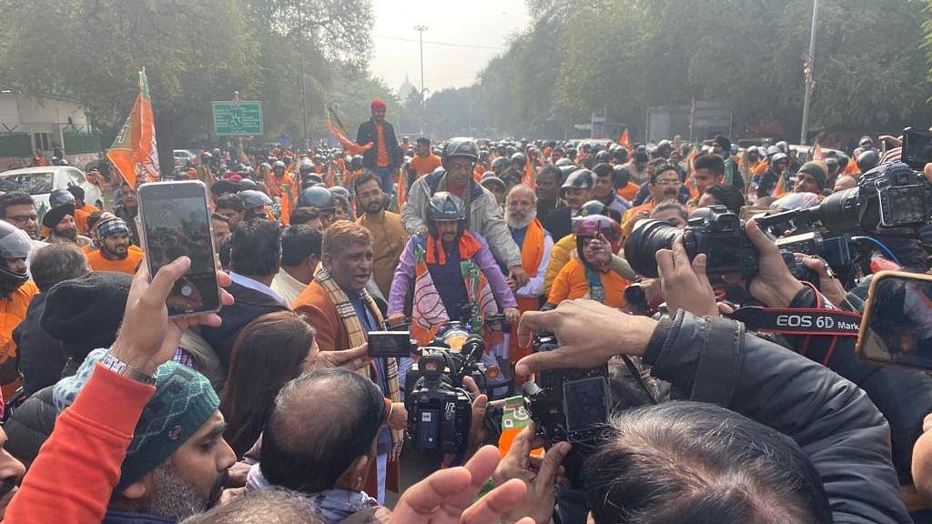 दिल्ली विधानसभा चुनाव के लिए भाजपा का चुनाव प्रचार अभियान