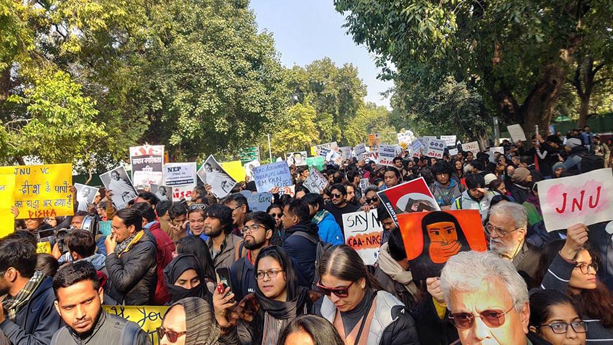 जेएनयू हमले की जांच में दिल्ली पुलिस ने की 7 नए लोगों की पहचान