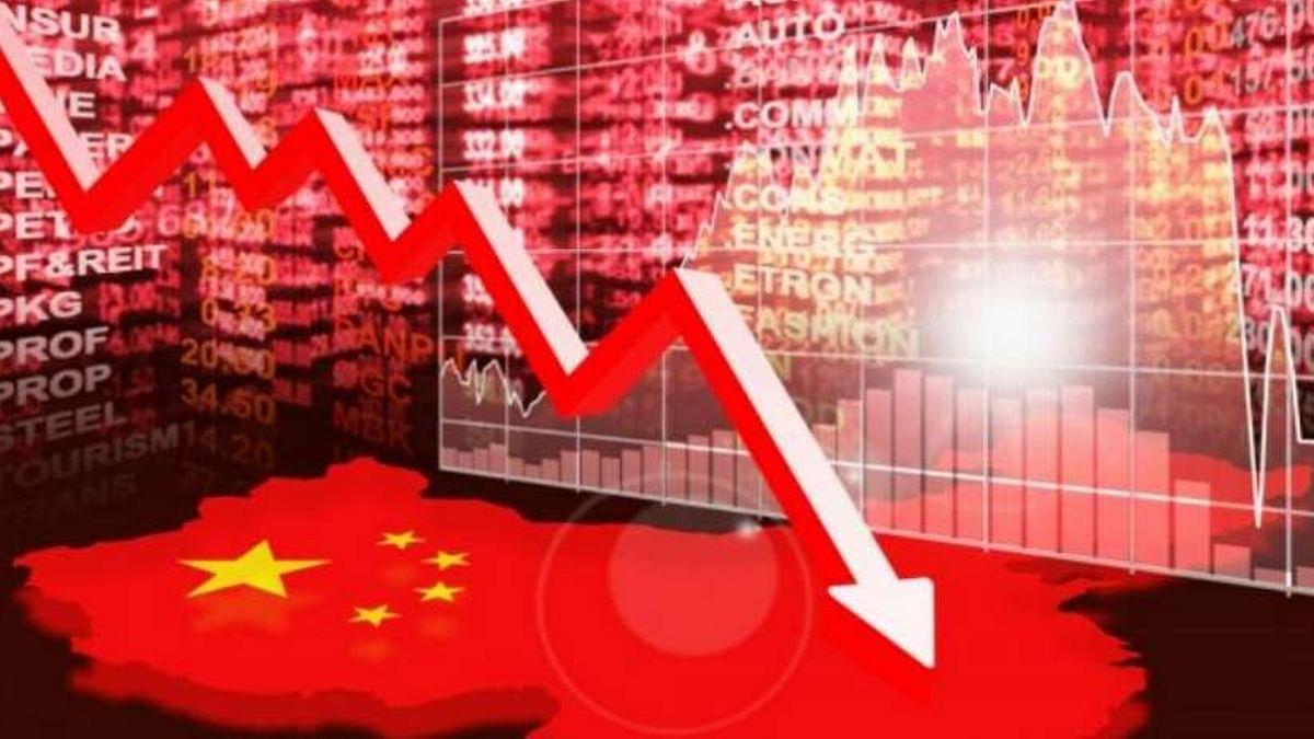 ट्रेड वॉर का असर, चीन की GDP में गिरावट!