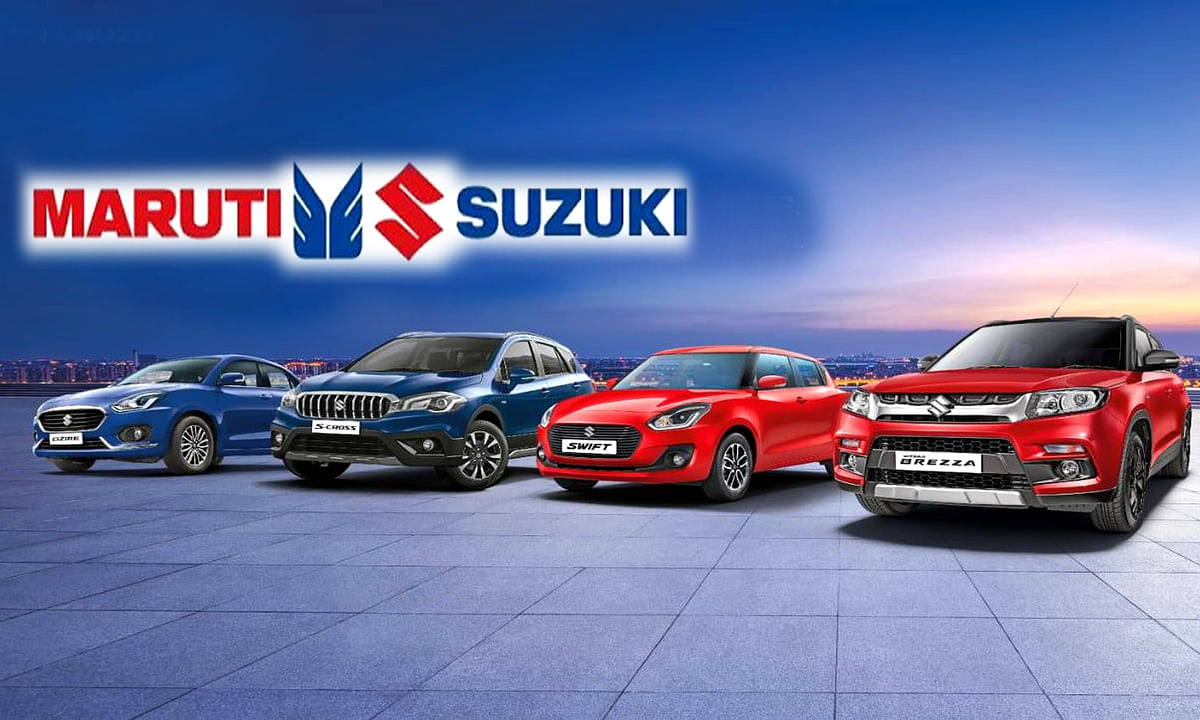 Maruti Suzuki Production Figures of Cars