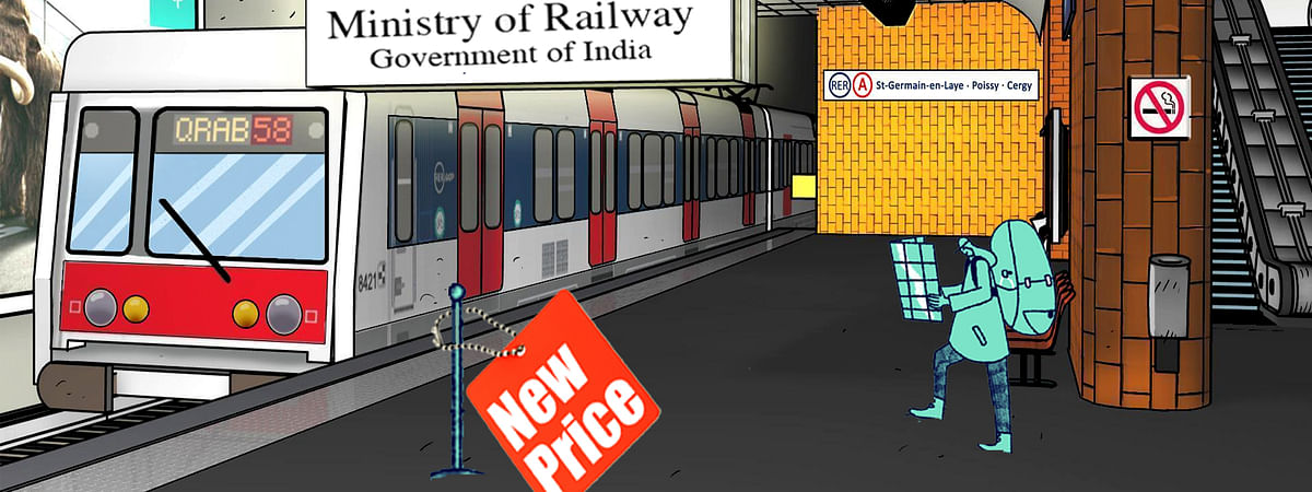 Railway Ministry hikes train prices