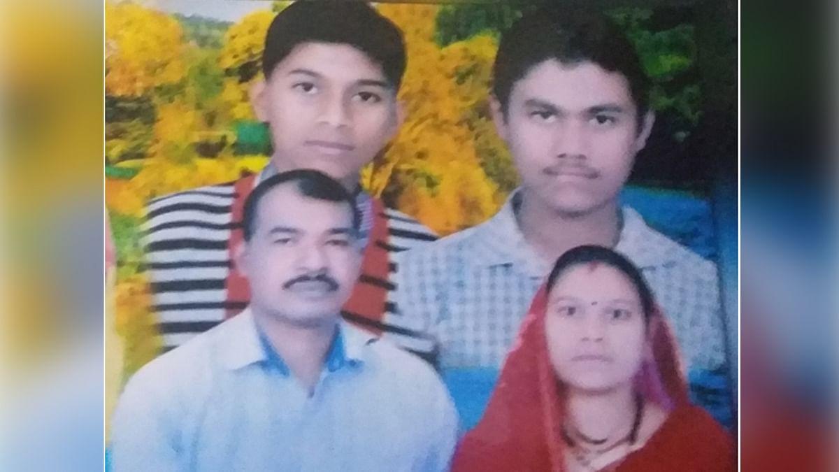 पत्नी-बेटे समेत मिली पूर्व सैनिक की लाश: हत्या की आशंका,फैली सनसनी
