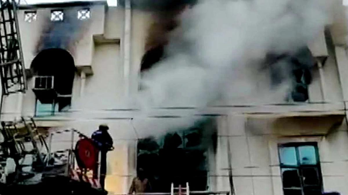 Delhi Paper Printing Press Fire