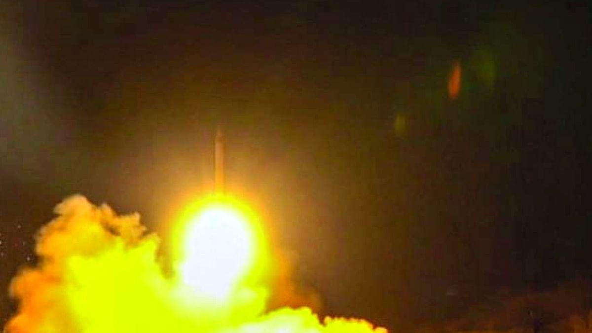 Three Rocket Attack Baghdad