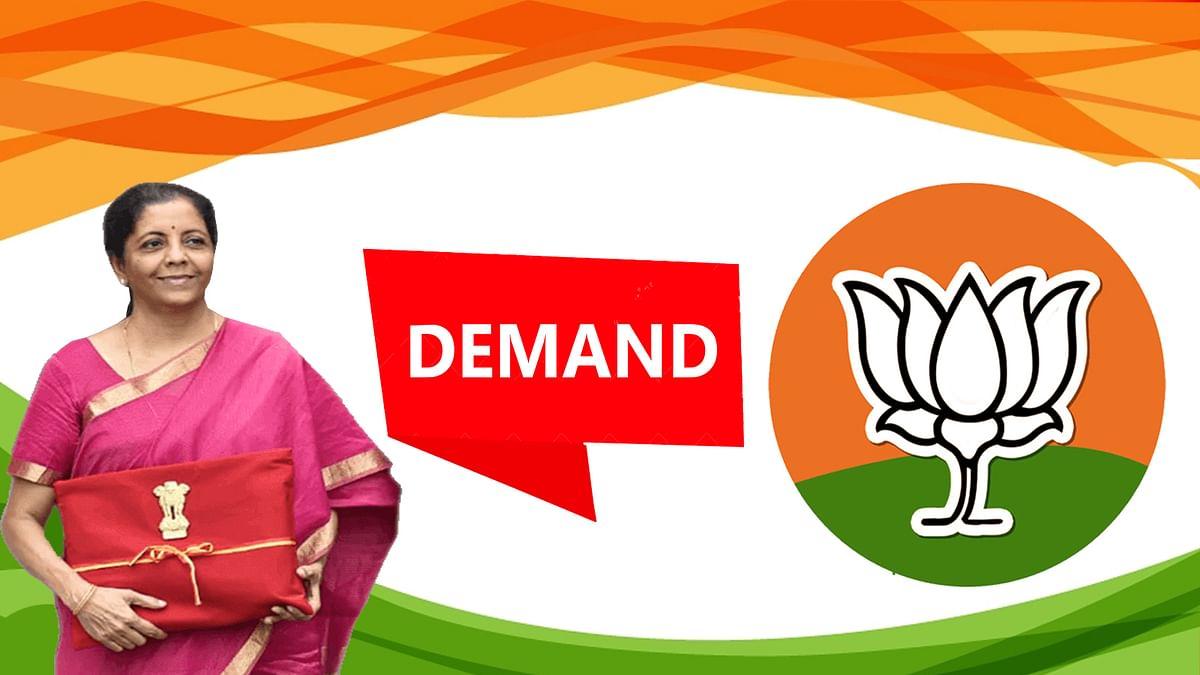 बजट 2020 में वित्त मंत्री निर्मला सीतारमण से BJP की तीन मांगे