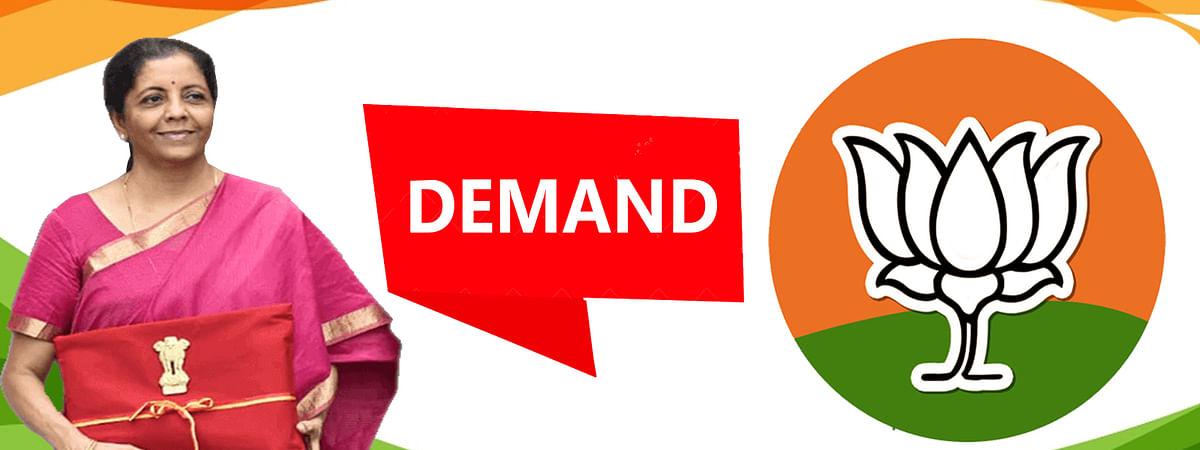 BJP'S Three Demands from Finance Minister Nirmala Sitharaman