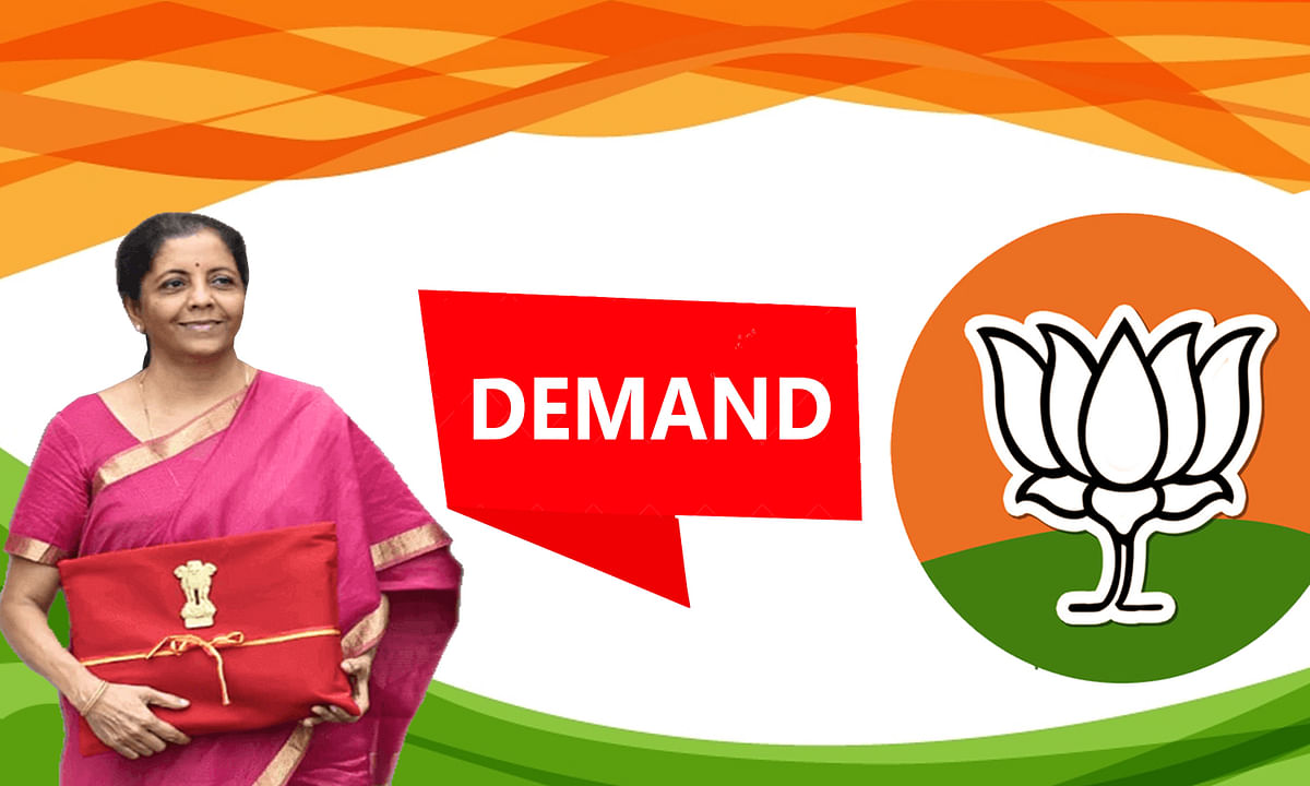 BJP'S Three Demands from Finance Minister Nirmala Sitharaman
