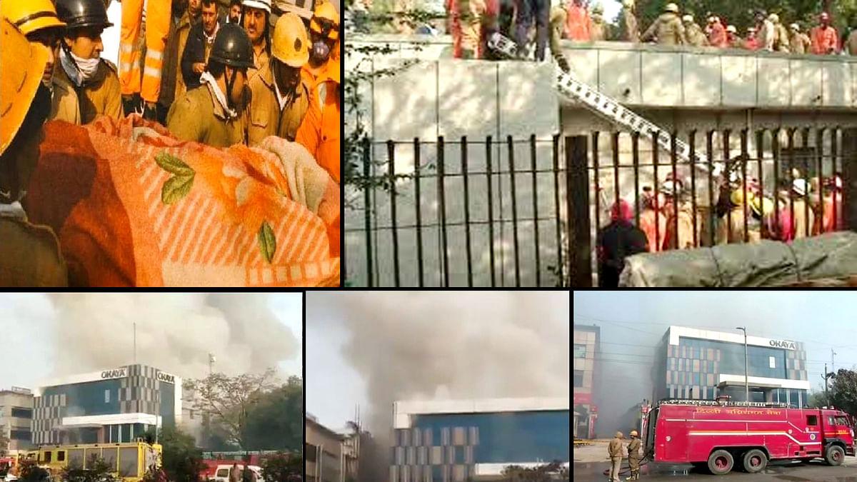 Delhi Factory Blaze