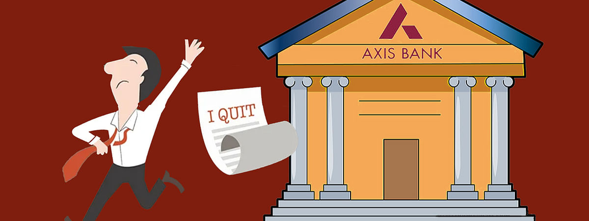 Axis Bank Employees Quit Jobs