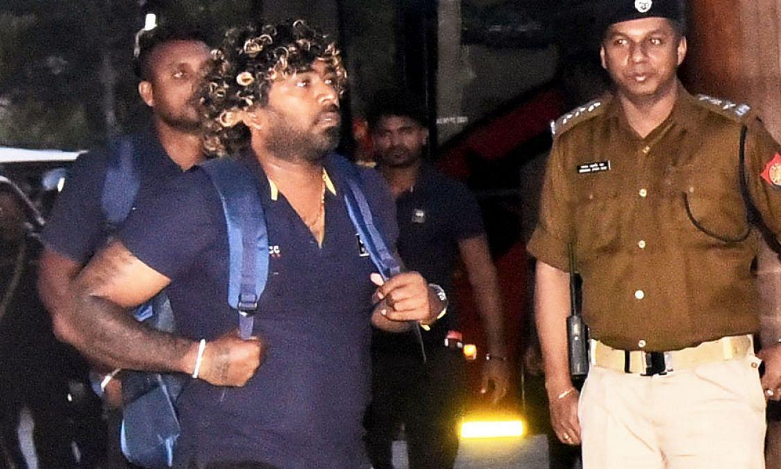 IND Vs SL: सुरक्षा घेरा में श्रीलंकाई क्रिकेट टीम गुवाहाटी पहुंची