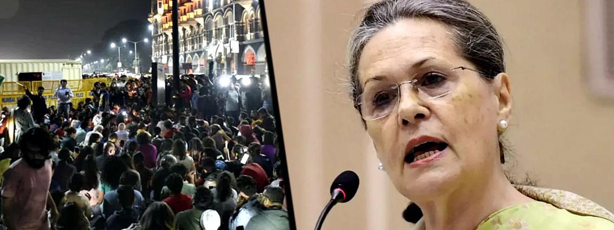 Sonia Gandhi Statement
