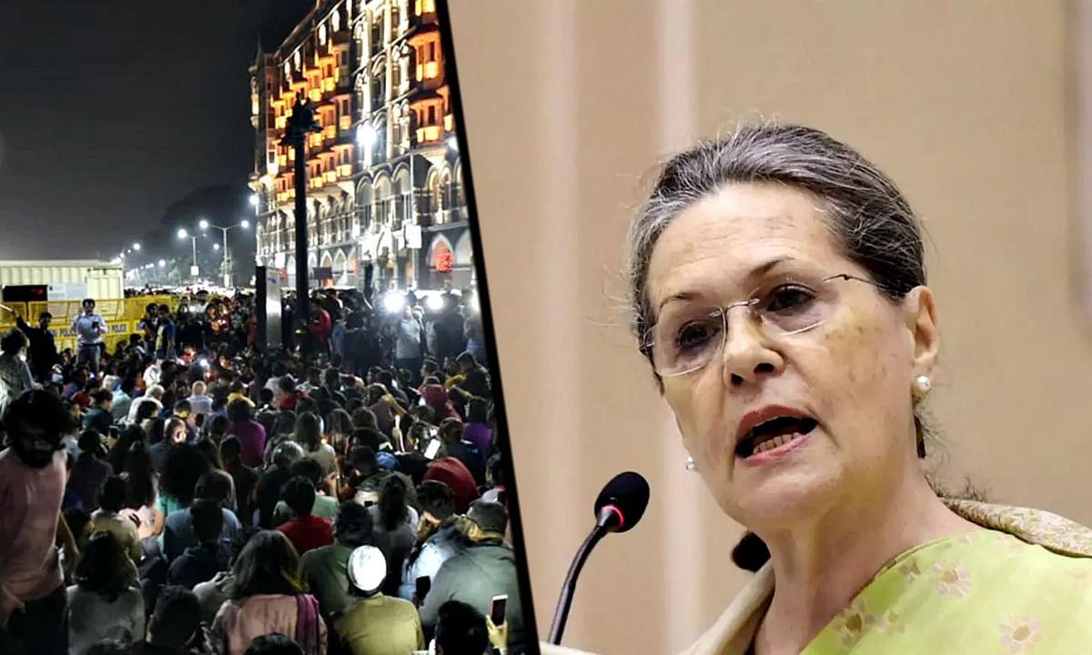 JNU हिंसा मामले पर जारी सियासत के बीच सोनिया गांधी ने कही यह बात..
