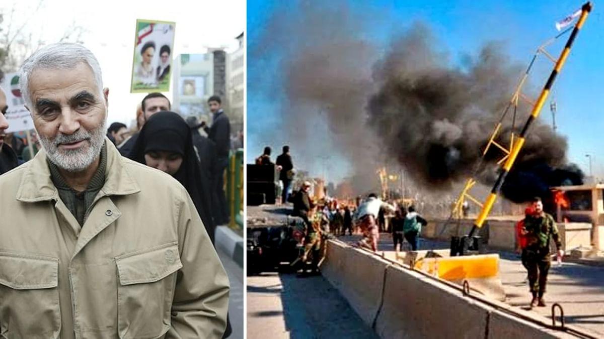 Baghdad Airport Air Strike