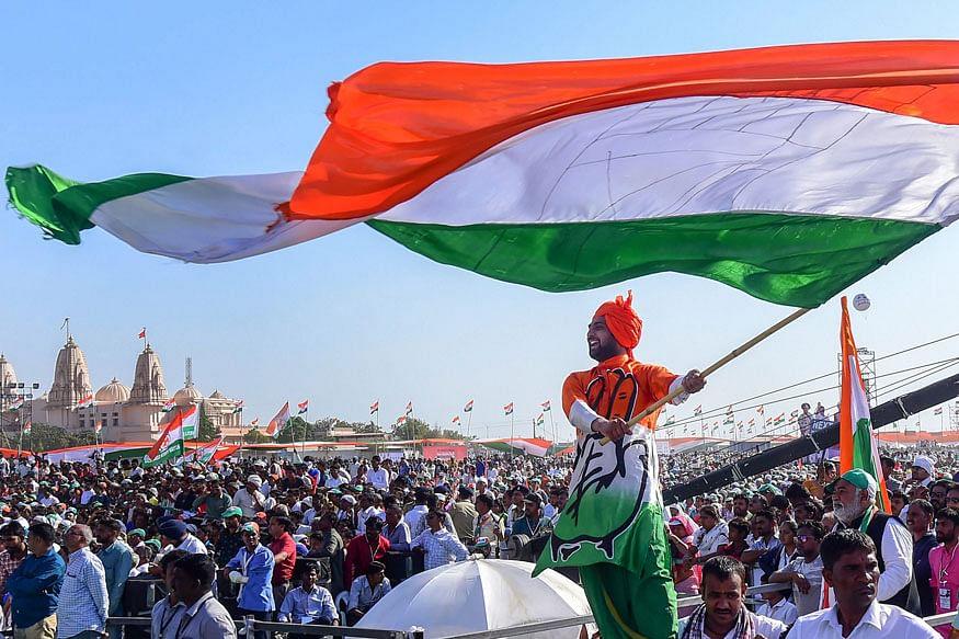गणतंत्र दिवस पर कांग्रेस नेताओं के बीच हाथापाई