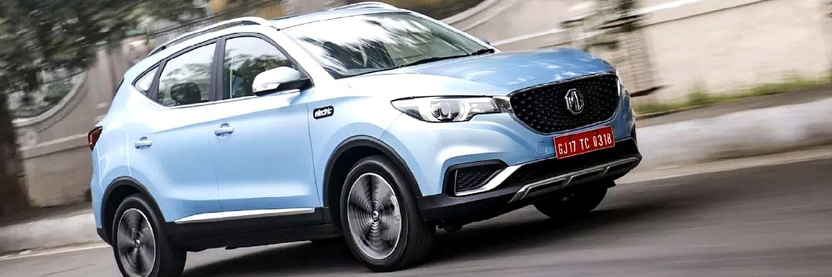 MG Motors ने लांच की भारत में अपनी पहली इलेक्ट्रिक SUV 'ZS EV'