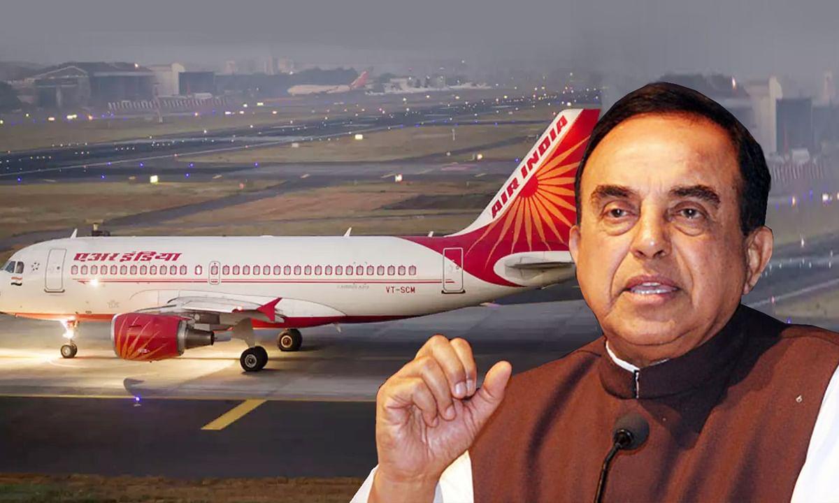 सरकार के Air India से जुड़े फैसले को BJP नेता ने बताया देश विरोधी